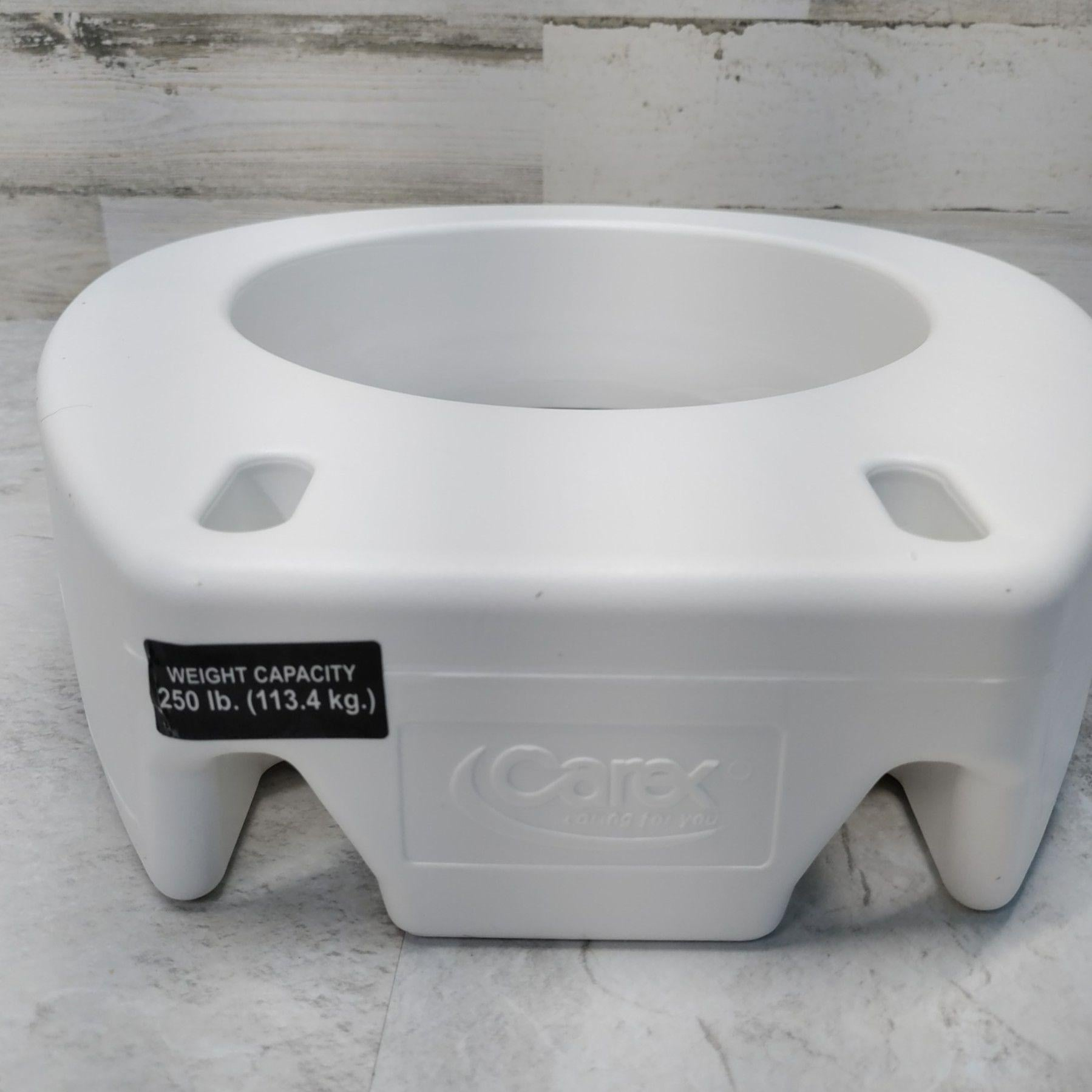 Carex 3.5 inch Toilet seat review
