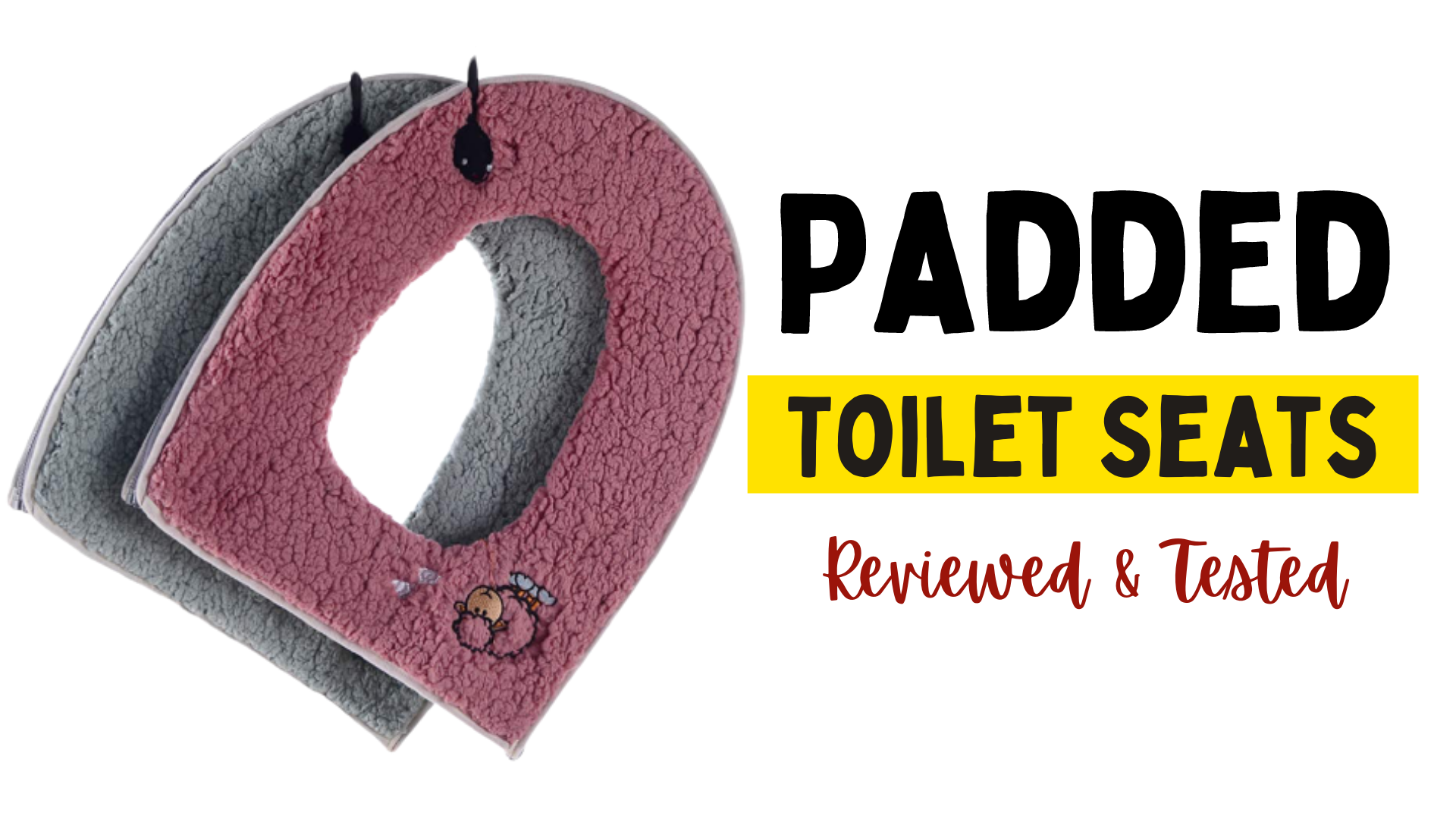 Padded Toilet Seats for Comfort