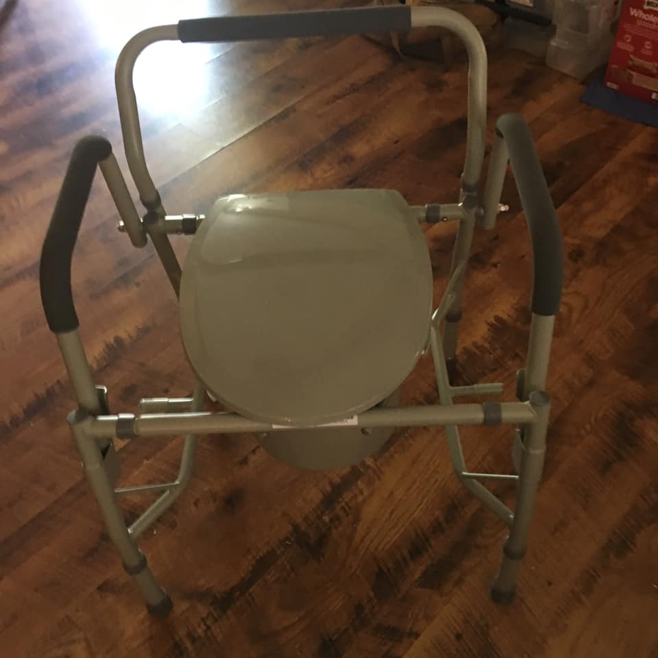 Commode Toilet chair 3 in 1